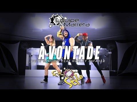 Ivete Sangalo - À Vontade (Versão Fitstyle) Ft. Wesley Safadão - Coreografia Equipe Marreta