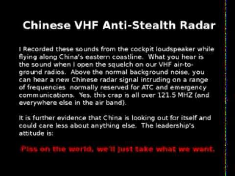VHF Anti-Stealth Radar