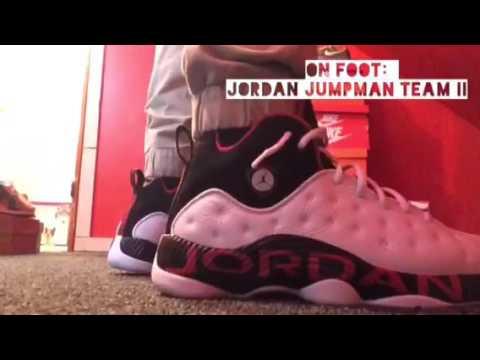 0ccdf94fdb8eca On Foot  Jordan Jumpman Team II