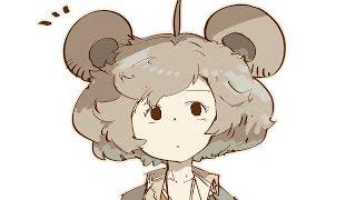 【ゆっくりお絵かき実況】くま、登場。/Cute bear character comic making