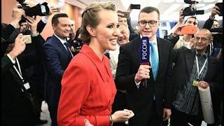 Ксения Собчак задает вопрос Путину о Навальном/Пресс-Конференция (14.12.17)
