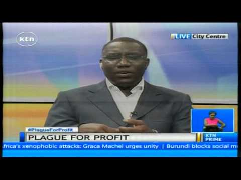 Dr Levy Gichanga explains the effects of lead poisoning on children