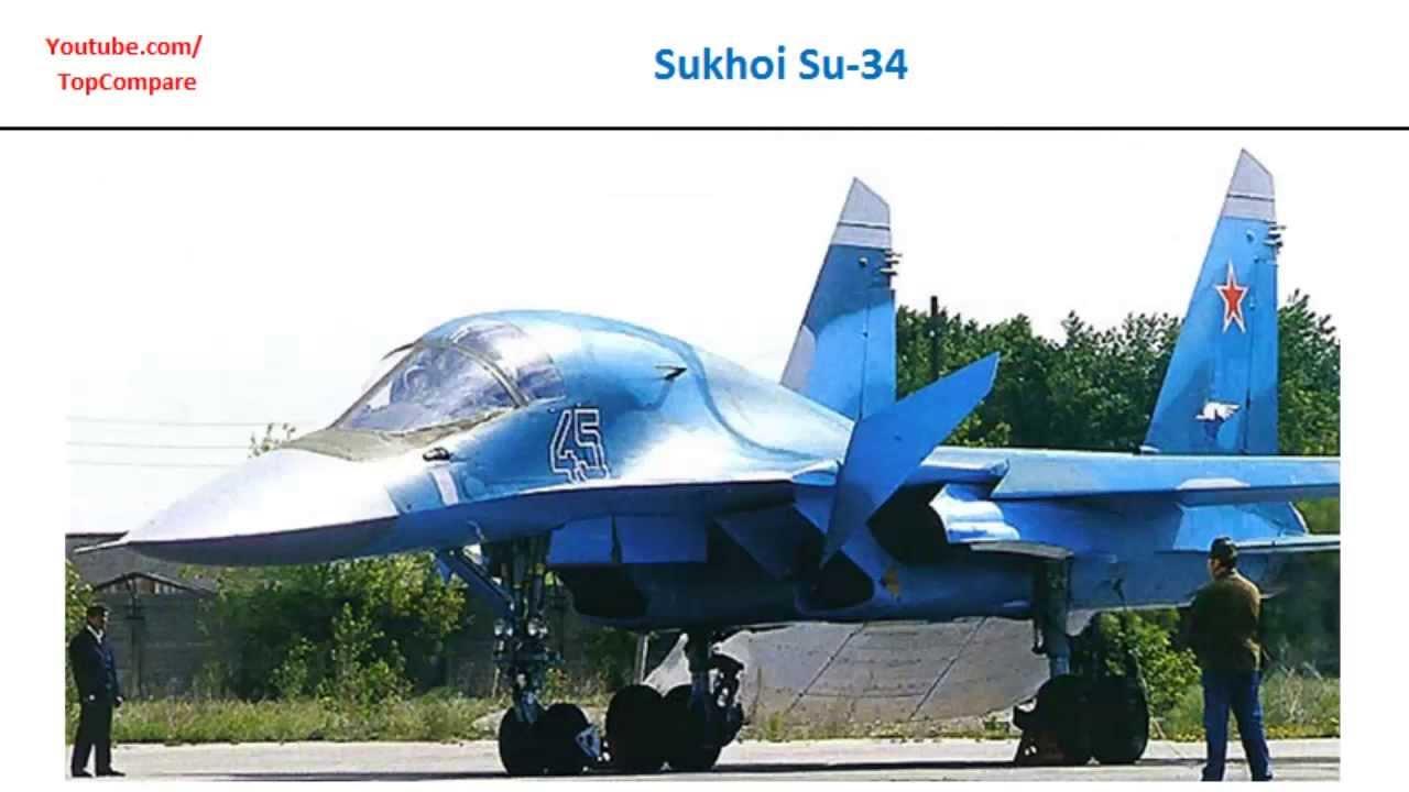 Sukhoi Su-34 vs F-16 Fighting Falcon, Plane