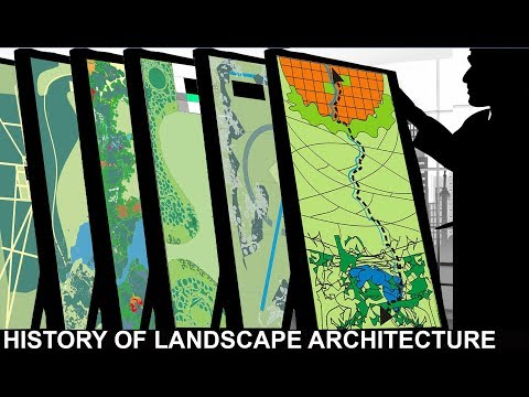 Landscape Architecture (1 of 6): history of the art since 12,000 BC