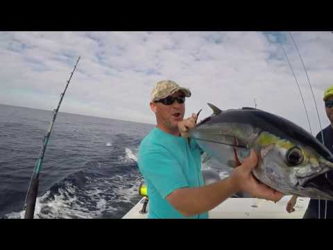 Planer In The Spread : Wahoo And Tuna Fishing