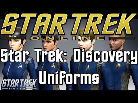 Star Trek Online - Star Trek Discovery Uniforms