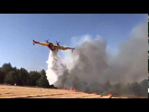 Protupožarne zračne snage HRZ i PZO-a gasile požar u Izraelu