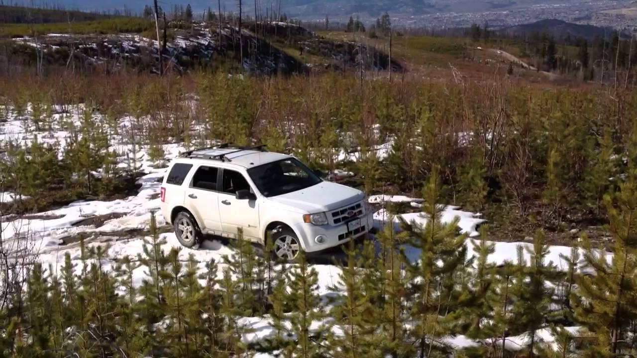 Ford Escape Hybrid Off Road