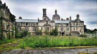 Abandoned insane asylum. Crazy place.
