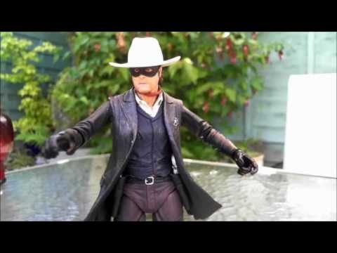 NECA The Lone Ranger Action Figure Review