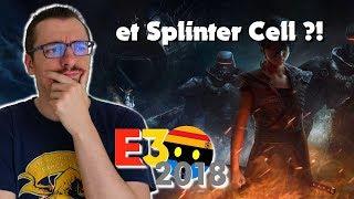 E3 2018 Ubisoft : mais où est SPLINTER CELL ?! Bibrief'
