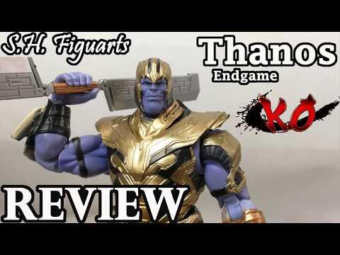 S.H. Figuarts Endgame - Thanos -Bootleg Review