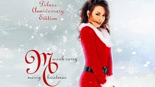 Gambar cover Mariah Carey... Merry Christmas Deluxe Anniversary Edition. New Album November 1