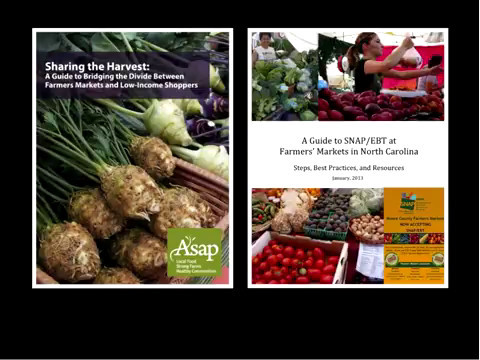 Working with Farmers' Markets to Improve Community Access