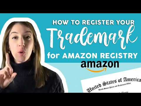 Amazon Brand Registry | How to register your Trademark? | Marcella Dominguez