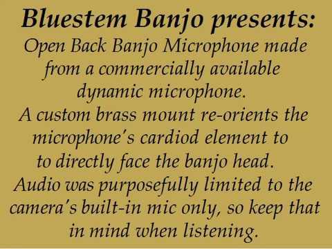 Banjo Mic Video