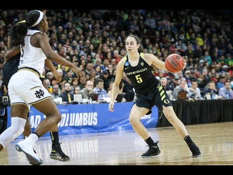 Highlights: Oregon\'s historic season ends with Elite Eight loss to Notre Dame