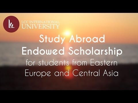 Study Abroad Endowed Scholarship for Students from Eastern Europe and Central Asia