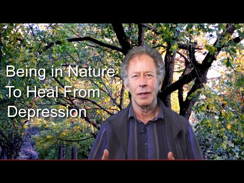 Being in Nature to Heal From Depression