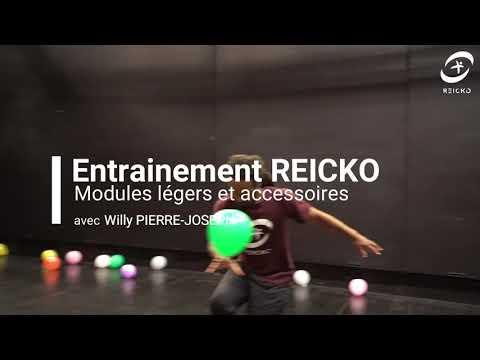 Entrainement REICKO modules légers et accessoire avec Willy Pierre-Joseph