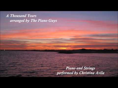 A Thousand Years Piano Guys Arrangement with Cello