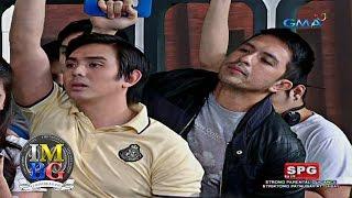 Bubble Gang: Away mag-syota sa MRT