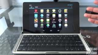 minisuit nexus 7 2013 bluetooth keyboard stand case review