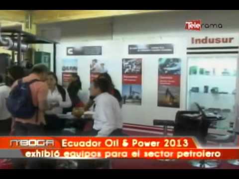 Ecuador Oil & Power 2013 exhibió equipos para el sector petrolero