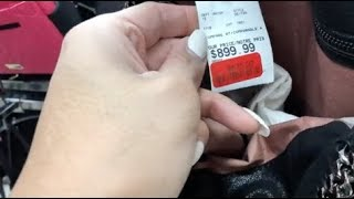 EXPENSIVE HIGH END STELLA MCCARTNEY FALABELLA BAG AT MARSHALL'S & THRIFTING