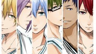 Характер героев аниме Баскетбол Куроко под музыку