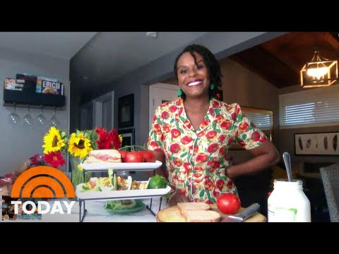 TikTok Star Tabitha Brown Shows How To Make A Tomato Sandwich | TODAY