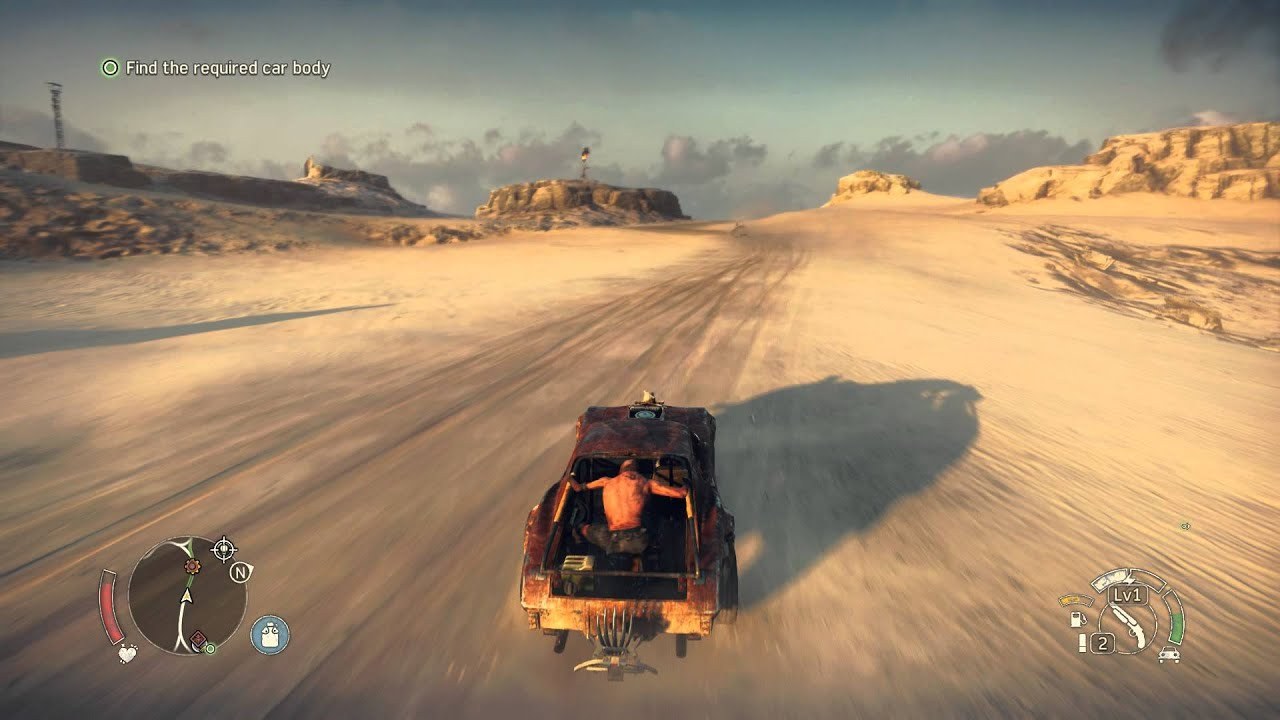 Image result for mad max in game driving