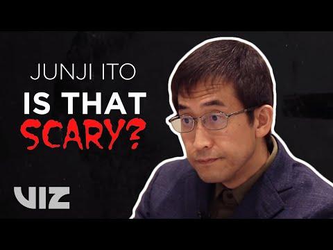 Junji Ito Reacts | Is That Scary? | VIZ