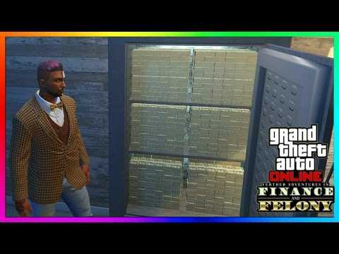 "GTA 5 Online - Most EXPENSIVE Property Tour! - All New Offices/Properties - ""FINANCE AND FELONY DLC"""