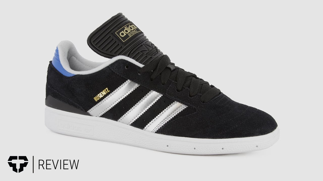 Adidas Busenitz Pro Skate Shoes Review - Tactics.com - YouTube 9cde8df1d
