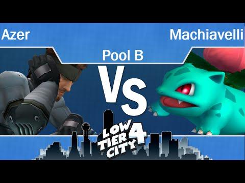 LTC4  - GG | Azer (Snake) vs Machiavelli (Ivysaur) Pool B - PM