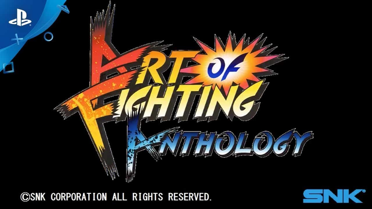 Art Of Fighting Anthology Launch Trailer Ps4 Youtube