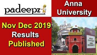 Anna University Results Nov Dec 2019 Published | Padeepz