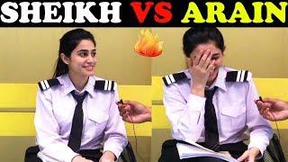ARAIN VS SHEIKH | University of Lahore | Public  Reaction Show