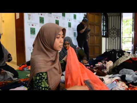 Sort, Pack & Distribute for the Needy. (Ucapan Setiausaha Agung Mapim - Ustazah Ilham