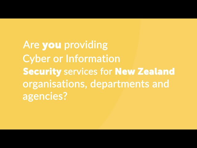 How You Can Help New Zealand Cyber & Information Security