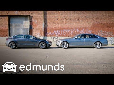 Tesla Autopilot vs. Cadillac Super Cruise | Comparison Test | Edmunds