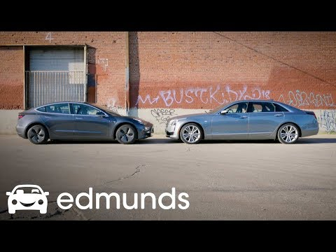 Tesla Autopilot vs. Cadillac Super Cruise | Comparison Test | Edmunds