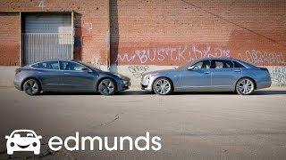 Tesla Autopilot vs. Cadillac Super Cruise Comparison Test