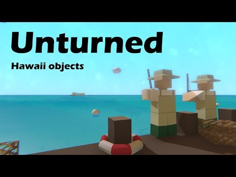 Every new object in the Hawaii expansion! (3.19.0.0)