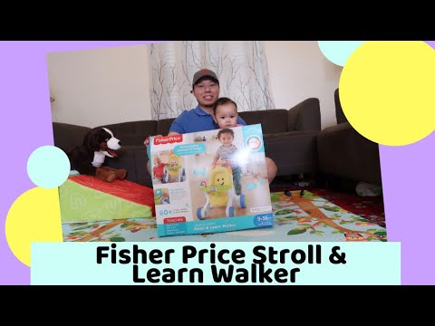 Fisher Price Stroll & Learn Walker