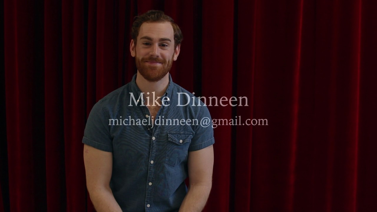 Mike Dinneen Musical Theater Audition Reel