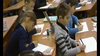 Урок української мови в 3-В класі