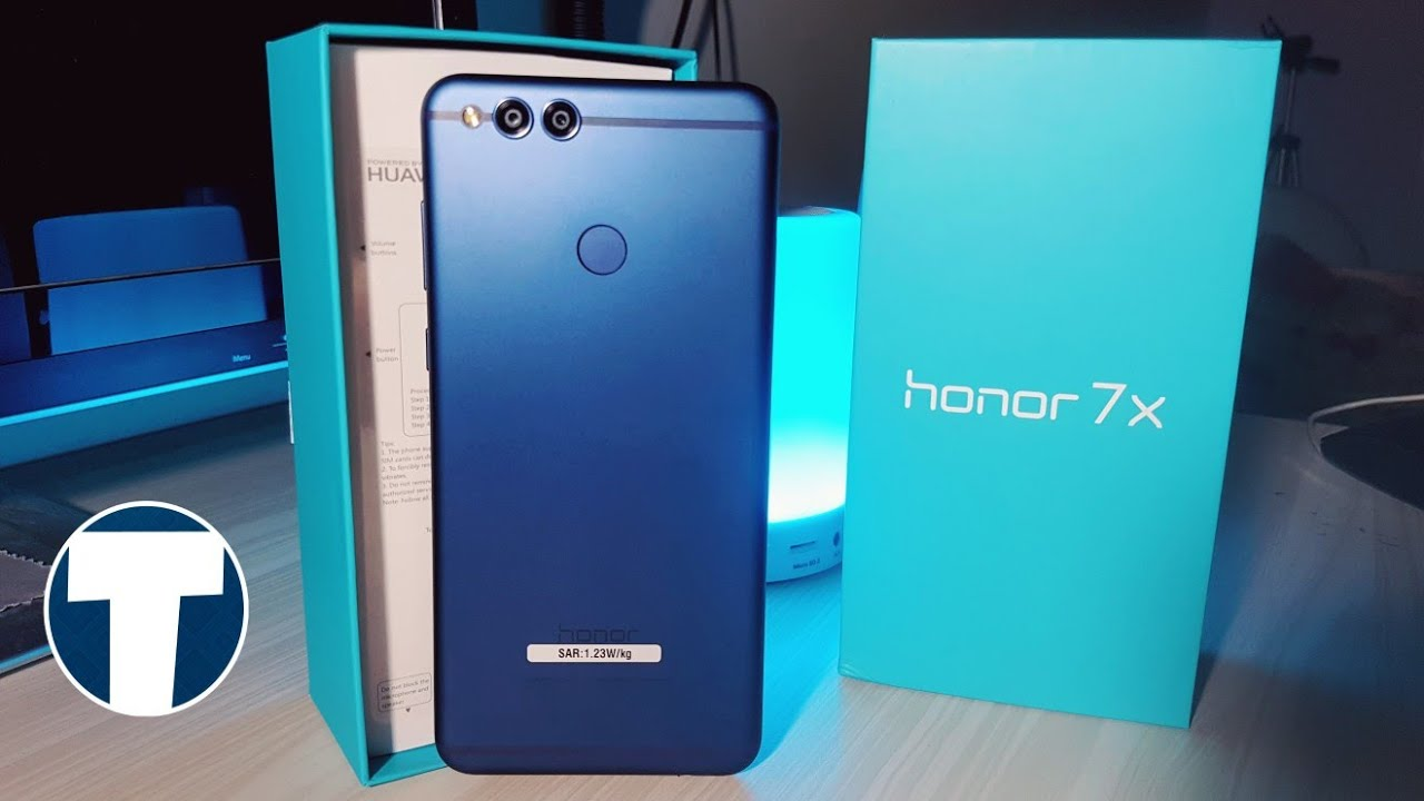 Honor 7X Blue 32Gb Model : Unboxing and Quick Look!