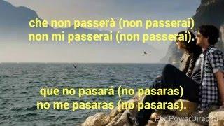 Non Passerai Marco Mengoni Con Letra Español Italiano